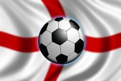 Fußball in England lizenzfreie abbildung