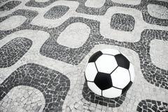 Fußball-Fußball Ipanema Rio de Janeiro Brazil Stockfoto
