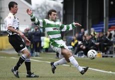 Fußball-Fußball-Spieler Lizenzfreie Stockfotografie