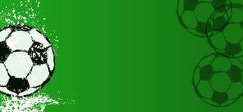 Fußball-/Fußballdesignschablone, Freiexemplarraum Lizenzfreies Stockbild
