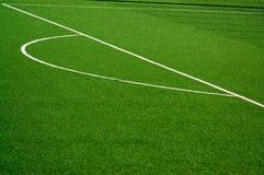 Fußball/Fußballplatz stockbilder