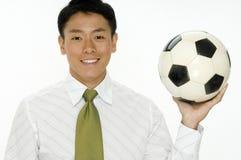 Fußball-Geschäft stockfotos