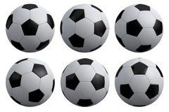 Fußball getrennt Stockbilder