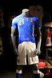 Fußball-Italiener-Team Lizenzfreie Stockbilder