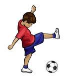 Fußball-Kind Stockfotos