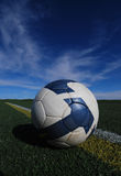 Fußball-Kugel stockfoto
