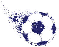 Fußball-Kugel Lizenzfreie Stockfotos