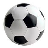 Fußball-Kugel getrennt Lizenzfreie Stockfotografie