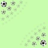 Fußball-Kugelhintergrund Stockfotografie