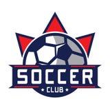 Fußball-Logo, Amerika-Logo Stockbilder
