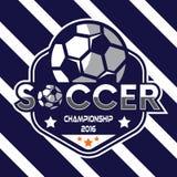 Fußball-Logo, Amerika-Logo Lizenzfreie Stockfotos