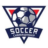 Fußball-Logo, Amerika-Logo Lizenzfreies Stockbild