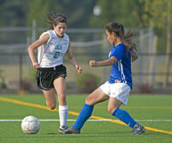 Fußball-Mädchen JV Lizenzfreie Stockfotos