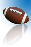 Fußball mit Reflexion Lizenzfreies Stockfoto