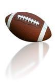 Fußball mit Reflexion Lizenzfreies Stockbild