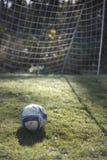 Fußball nach innen Lizenzfreie Stockbilder