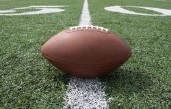 Fußball nahe den fünfzig Lizenzfreie Stockfotos