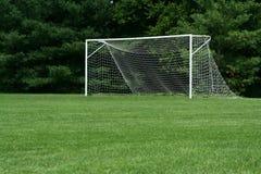 Fußball-Netz Lizenzfreie Stockbilder
