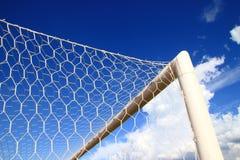 Fußball-oder Fußball-Ziel Conner Lizenzfreie Stockfotografie