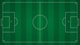 Fußball- oder Fußballplatzhintergrund Lizenzfreie Stockfotos