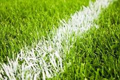 Fußball- oder Fußballstreifen Stockfoto