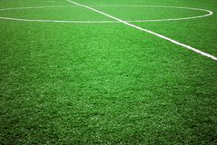 Fußball- oder Fußballthema Stockbild
