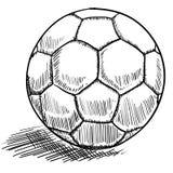 Fußball- oder futbolabbildung Lizenzfreie Stockbilder