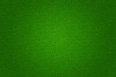Fußball- oder Golffeldhintergrund des grünen Grases Stockfotos