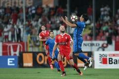 "Fußball Romania's Liga 1 †""Dinamo Bukarest gegen CSM Iasi Stockbilder"