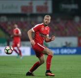 "Fußball Romania's Liga 1 †""Dinamo Bukarest gegen CSM Iasi Stockfoto"