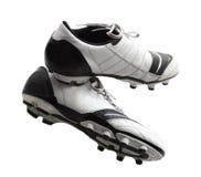 Fußball-Schuhe Lizenzfreies Stockbild