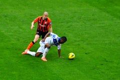 Fußball Shakhtar-Dynamo lizenzfreie stockfotografie