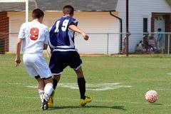 Fußball-Spiel Lizenzfreie Stockbilder