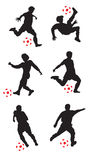 Fußball-Spieler Lizenzfreie Stockbilder