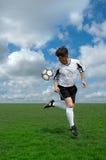 Fußball-Spieler Stockfotos