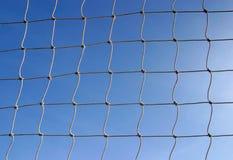 Fußball-Sport-Ziel-Netz Stockfoto