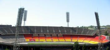 Fußball-Stadion Stockfotografie
