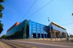 Fußball-Stadion in Zagreb, Kroatien Lizenzfreie Stockfotografie