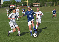 Fußball-Tätigkeit Stockbild
