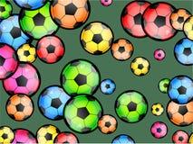 Fußball-Tapete stock abbildung