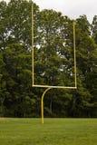 Fußball-Torpfosten Lizenzfreie Stockfotos