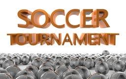 Fußball-Turnier Lizenzfreies Stockbild