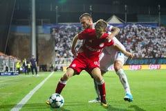 Fußball - UEFA-Meister-Liga lizenzfreies stockfoto