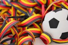 Fußball und Ausläufer Stockbilder