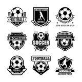 Fußball-Vektor-Ikonen 16 Lizenzfreies Stockfoto