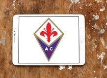 Fußball-Vereinlogo ACF Fiorentina Stockbilder