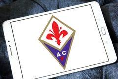 Fußball-Vereinlogo ACF Fiorentina Lizenzfreies Stockbild