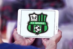 Fußball-Vereinlogo Sassuolo Femminile Lizenzfreie Stockfotos