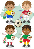 Fußball-Weltcup A Lizenzfreies Stockfoto
