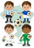Fußball-Weltcup F Stockbilder